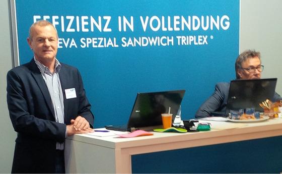 Messestand Jahreskongress Garmisch