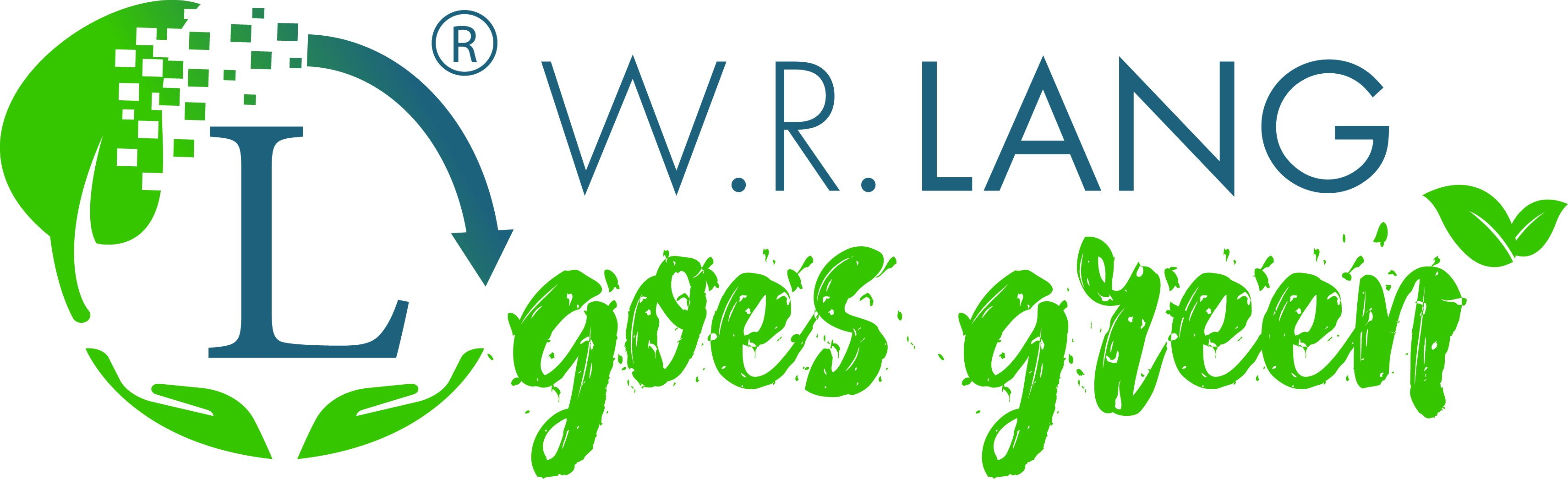 Banderolen - Logo W.R.Lang goes green