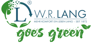 Logo W.R. Lang goes green