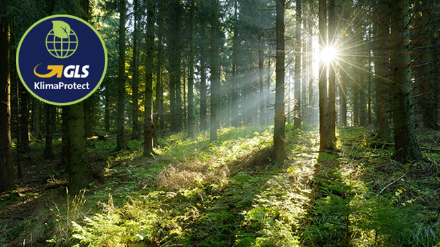 W.R. Lang wird grüner - Ab dem 1. Oktober 2019 stellt GLS alle Pakete in Deutschland zu 100 Prozent klimaneutral zu. Greener with GLS KlimaProtect