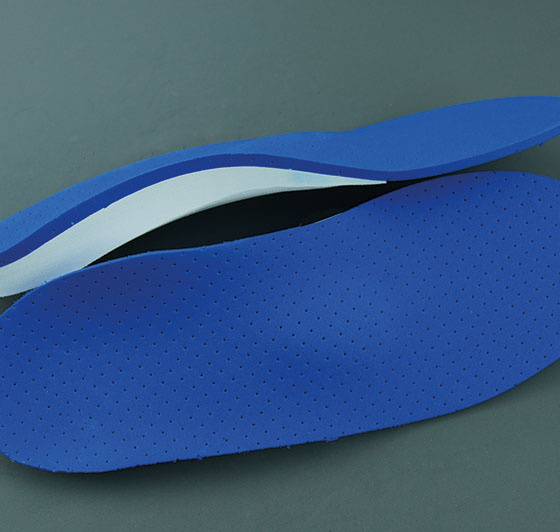In-house production of insole blanks
