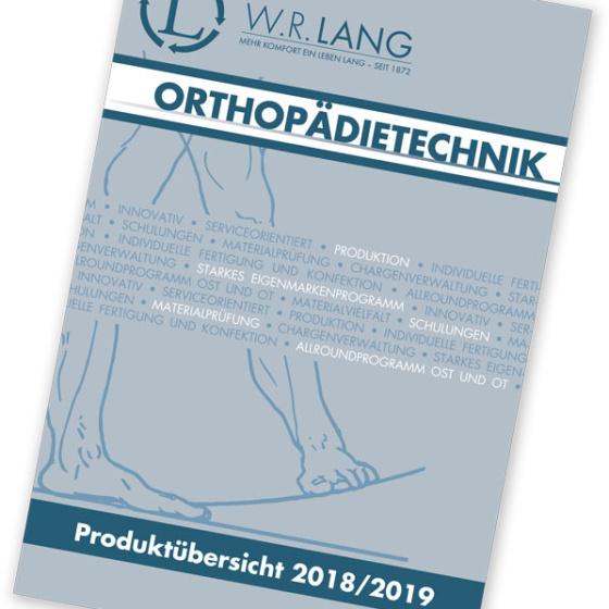 Katalog Orthopädietechnik