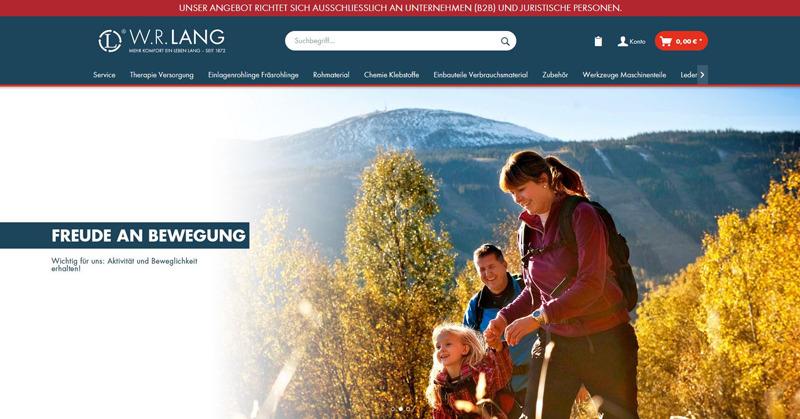 Homepage Online Shop