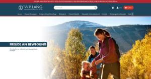 Unser neuer Online-Shop - Startseite