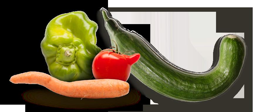 Lebensmittel - Hässliches Gemüse